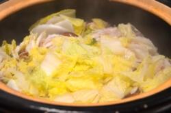 オーガニック白菜で鍋