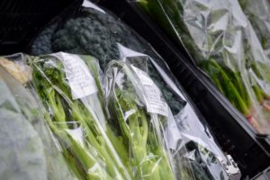 最新の自然野菜の在庫