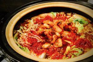健康キムチ鍋
