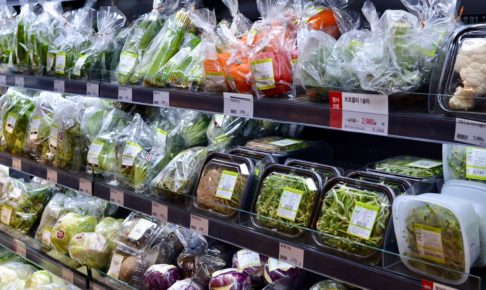 韓国と自然栽培野菜