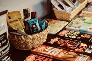 有機栽培の素材を使ったチョコレート