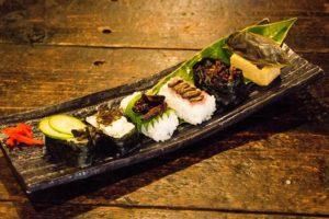 昆虫のお寿司