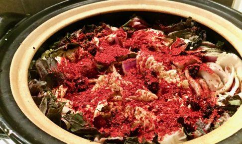 無農薬ハクサイのミルフィーユ鍋