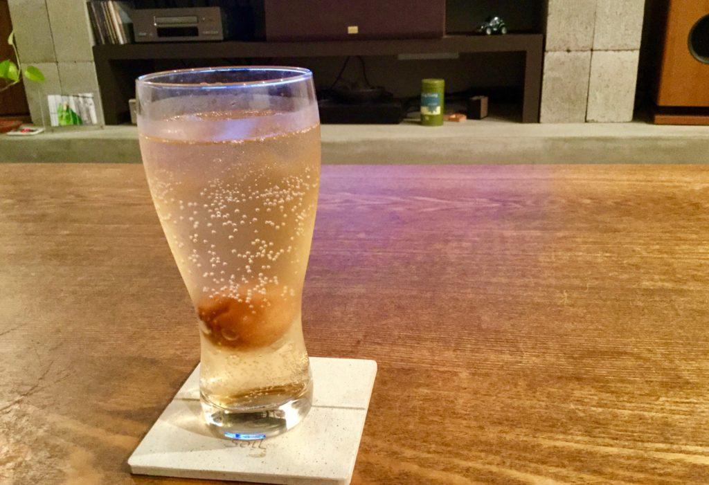 オーガニックの梅酒