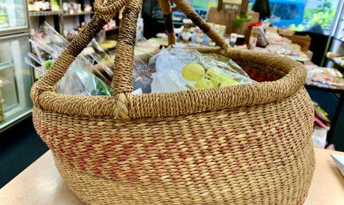 有機野菜のお買い物